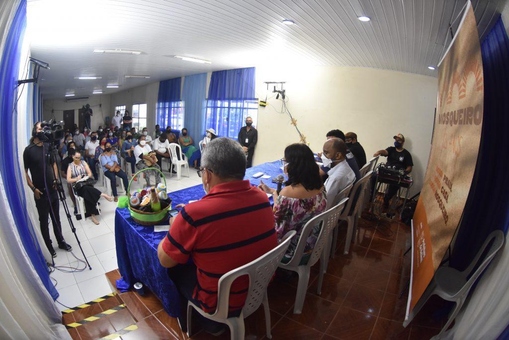 Sobre a importância do crédito, dos programas de distribuição de renda e da moeda social. (Foto Joyce Ferreira/ Agência Belém)