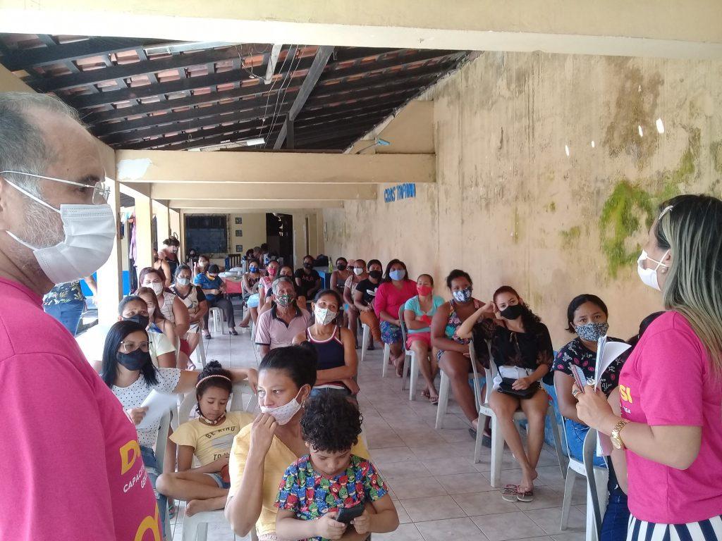 Mulheres do Tapanã conhecem o Donas de Si.