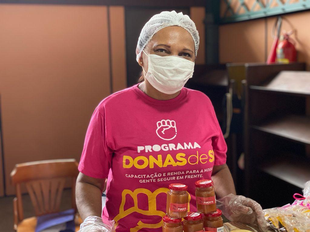 Os visitantes puderam conhecer o programa e degustar os produtos. (Foto: Madson Souza/ Comus)